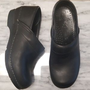 Dansko Leather Clogs Size 37